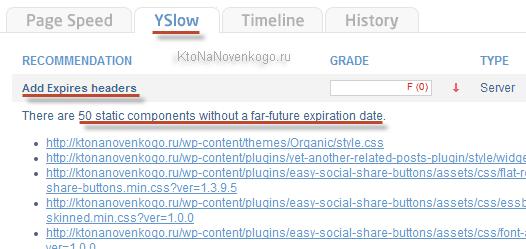 Советы по увеличению скорости сайта от GTmetrix