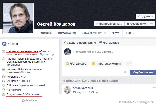 Продвижение услуг в Facebook