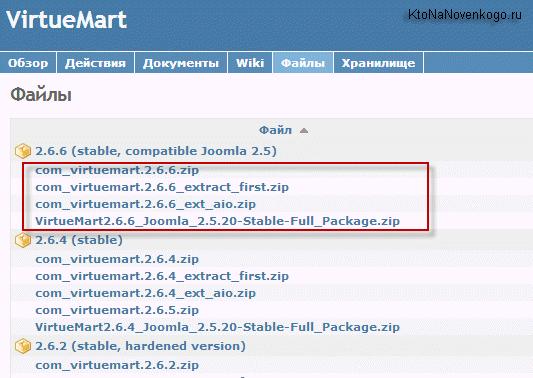 Установка VirtueMart 2 для создания интернет-магазина на Joomla