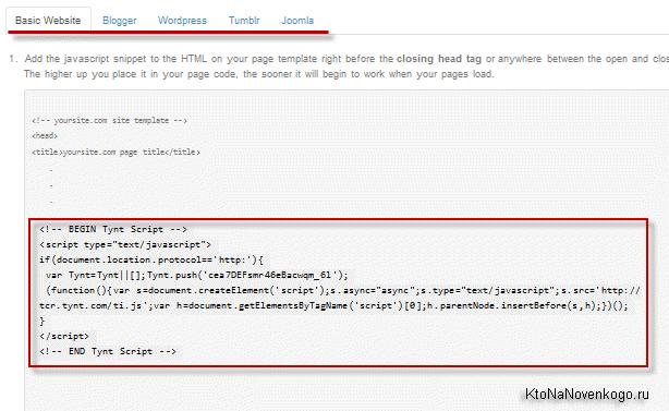 Подтверждение ваших прав на владение доменным именем (сайтом)