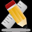 Иконка карандаша и линейки для оценки конкурентов