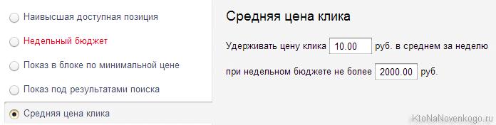 Создание и настройка рекламной кампании, а так же выбор стратегии в Яндекс Директе