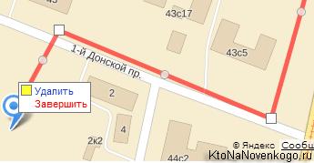Как нарисовать линию проезда для своей Яндекс Карте на сайте