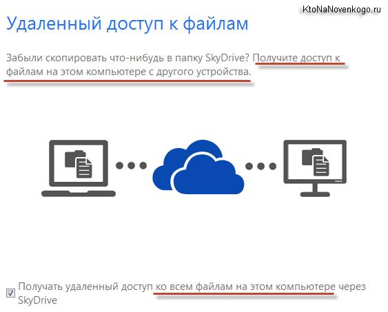 Удаленный доступ к файлам на вашем компьютере с другого ПК