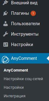 AnyComment активация