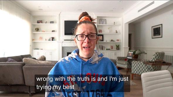 Расстроенная домохозяйка