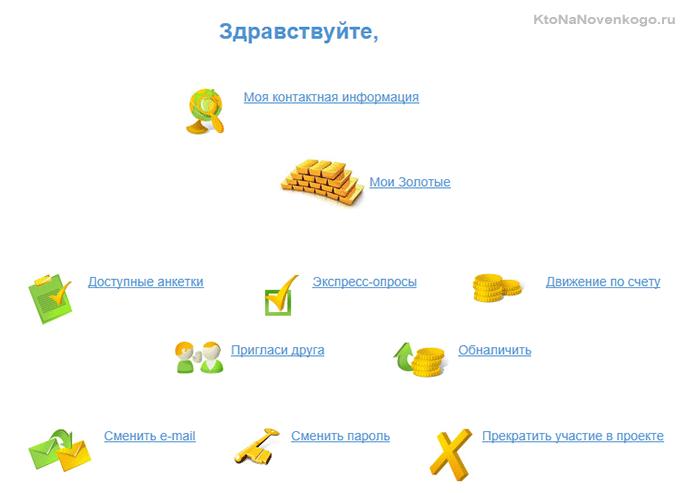 Первый вход в личный кабинет на Анкетке.ру