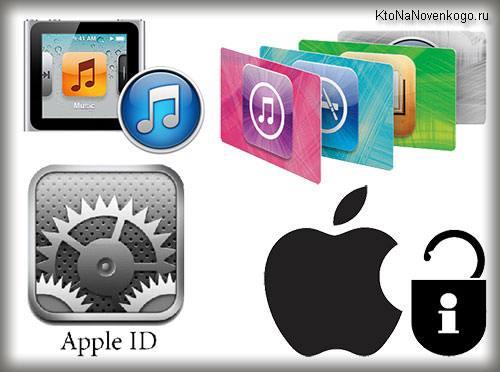 Коллаж из логотипов Эпл