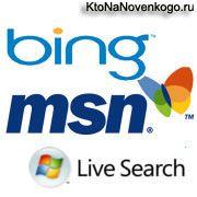 Добавить сайта в add url Бинг