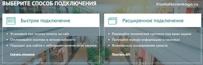 прием платежей на сайте с помощью RURU