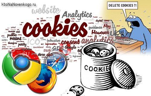 Что такое cookie и как почистить куки в современных браузерах, создание, продвижение и заработок на сайте