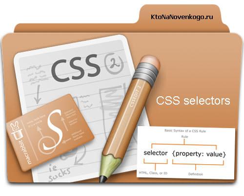 Селекторы тега, класса (class), Id и универсальные, а так же селекторы атрибутов в современном CSS