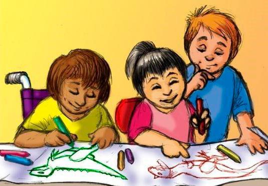 Рисование детьми диназавров