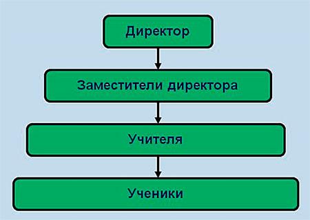 Школьная иерархия власти