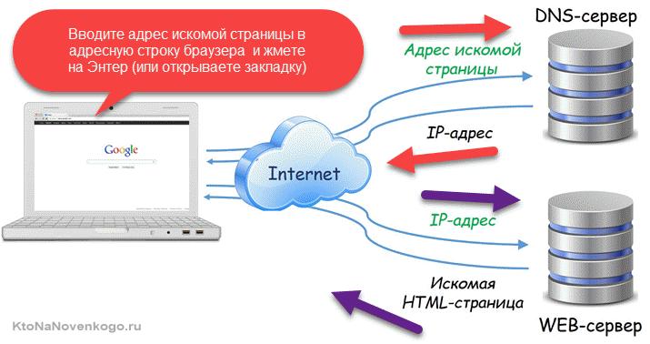 Как DNS обеспечивает работы интернета