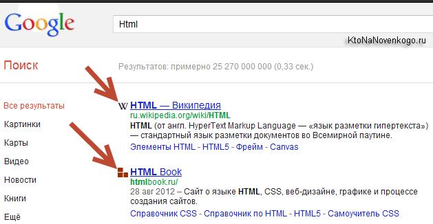 Расширение добавляет фавикон иконке в выдачу Гугла