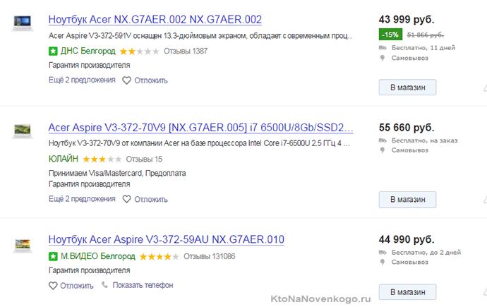 доставка и сроки повышает место в рейтинге Yandex Market