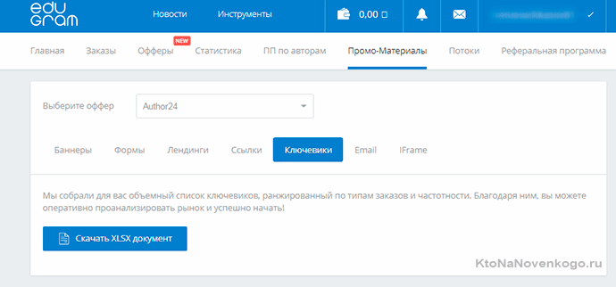 edugram ключевики