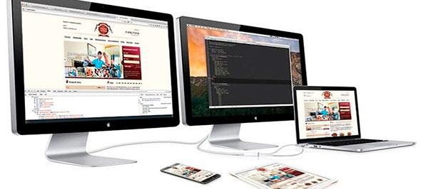 Отображение одного и того же сайта на всех возможных экранах