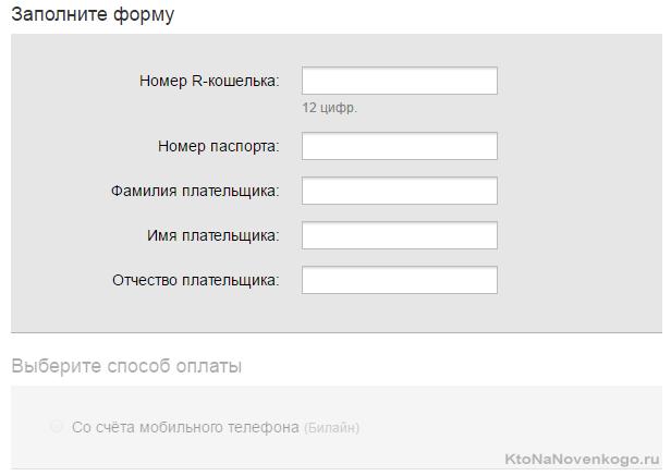Вывод денег с Webmoney на РУРУ