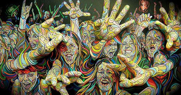 Психоделика в живописи