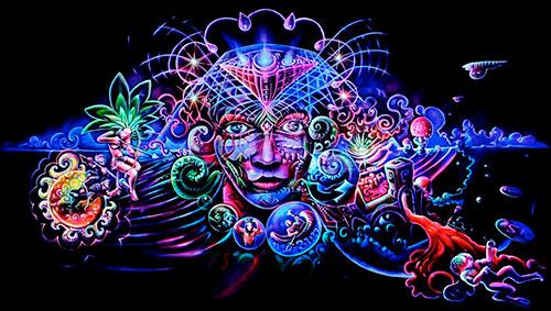 Что такое психоделика: отличие от психоделии и психоделиков