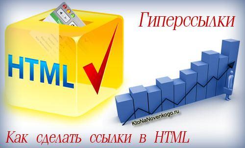 Гиперссылки или как сделать ссылки в HTML - коллаж на тему