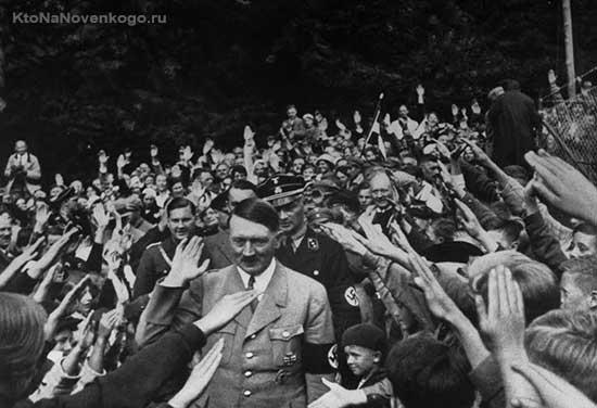 Гитлер в фашистской Германии