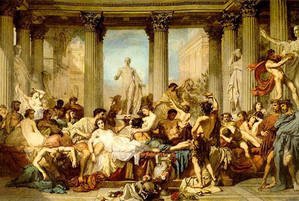 Иллюстрация жизни в период античности
