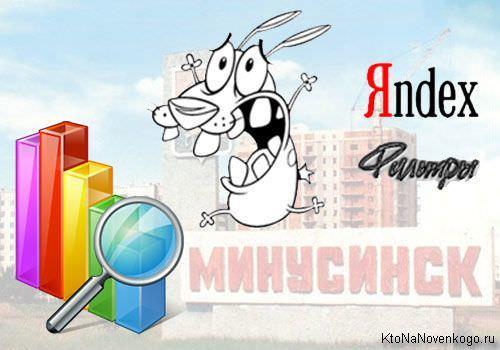 Минусинск в Яндексе