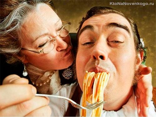 Спагетти на завтрак