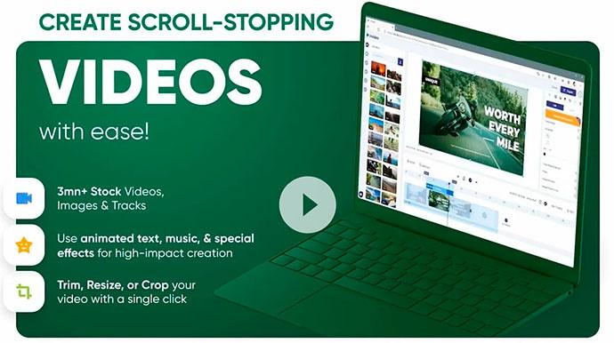 inVideo – видеоредактор, который стоит добавить в свой набор инструментов