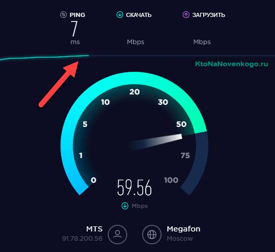 Как проверить скорость интернета в онлайн сервисе спидтест