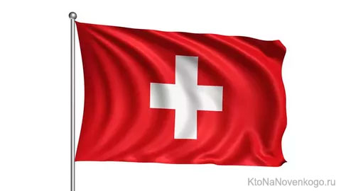 Флаг Швейцарской конфедерации