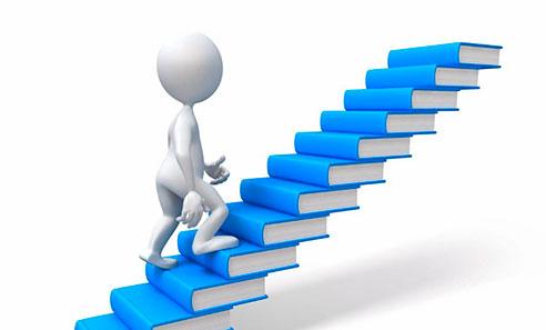 Лестница из книг
