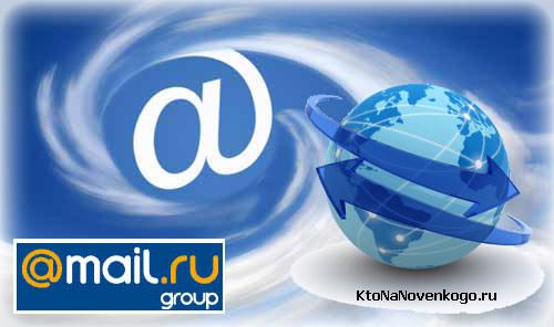 Коллаж из логотипов Майл.ру