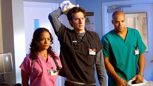 Кадр из сериала Клиника