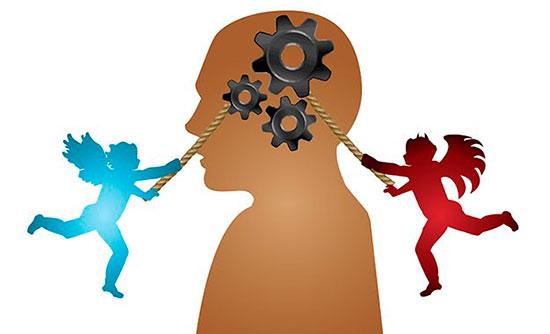 Плохие и хорошие мысли в голове человека