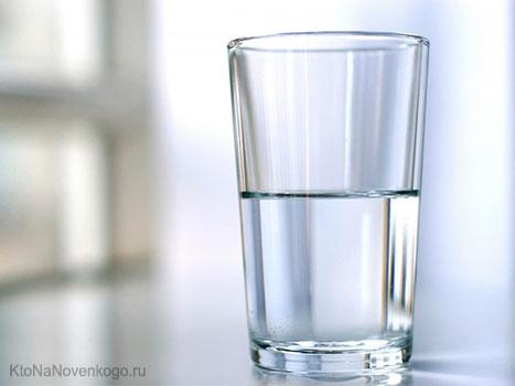 Стакан воды наполовину пуст