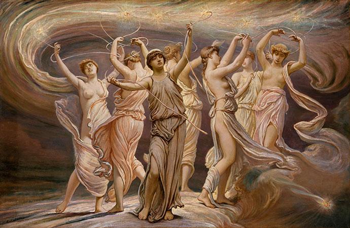 Танцующие нимфы плеяды