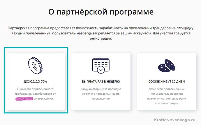 партнерская программа в BitFlip