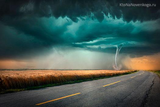 Что такое торнадо и чем оно отличается от смерча