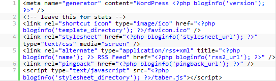 PHP код в теме Вопрдпресс