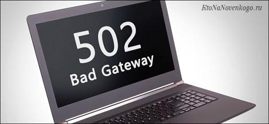 502 Bad Gateway — что это за ошибка и как ее исправить
