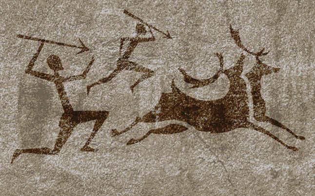 Первые мифы в рисунках