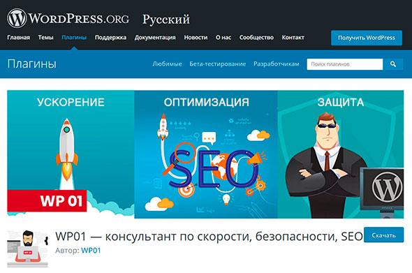 WP01 знает, как ускорить ваш WordPress-сайт, и не только это