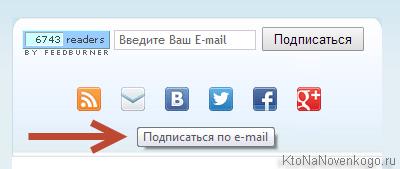 Подпись к кнопкам через Title