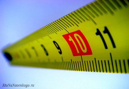 Что такое погонный метр – считаем в длину