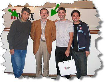 Аркадий Волож и Илья Сегалович