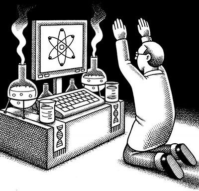 Поклонение сциентиста науке
